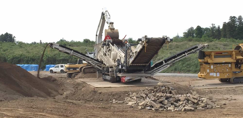 残土ふるいに利用するふるい機とは?産業廃棄物処理に必要なふるい機の種類について解説