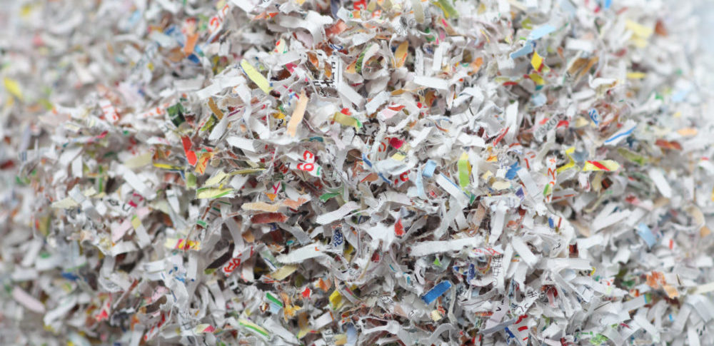 紙くずとは?紙くずの種類や廃棄量統計と現状