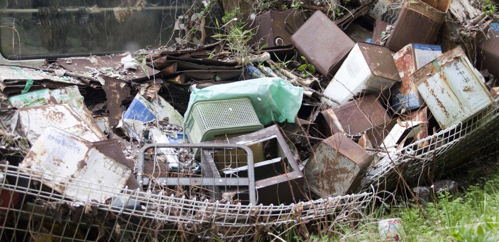 空から不法投棄を監視する「スカイパトロール」始動、県内全域を調査 秋田県