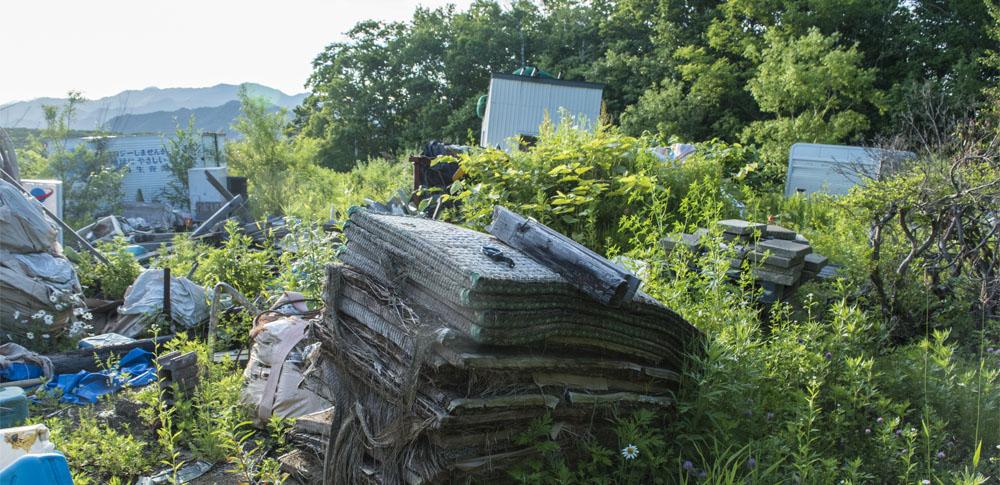 ダンプカー2台分のゴミを不法投棄の疑い 京都府警が無職男性を逮捕
